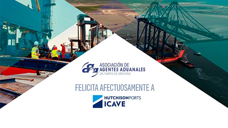 AAAVER Felicita a Hutchinson Ports ICAVE